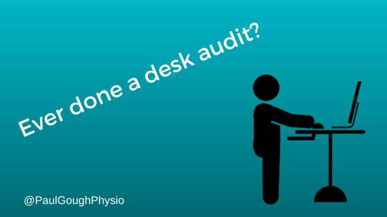 Ever done a desk audit-