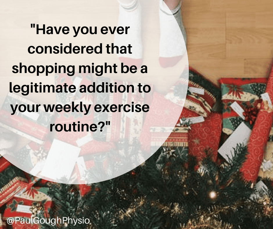 Christmas Fitness Tips: Does Shopping Count As Exercise?